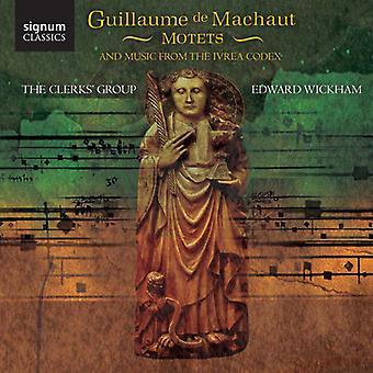 G. De Machaut - Guillaume De Machaut: Motets and Music From the Ivrea Codex [CD] USA import