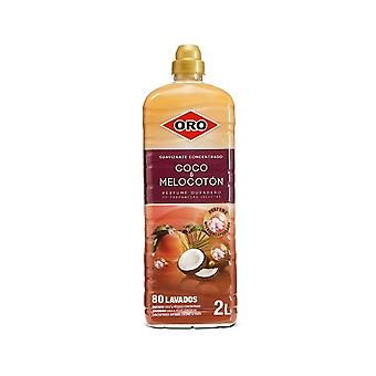Concentrated Fabric Softener Oro Coconut Peach (2 L)