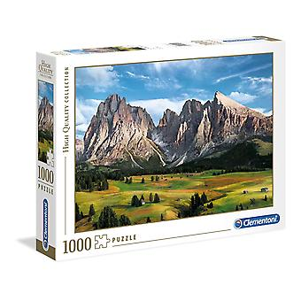 Clementoni L'incoronazione delle Alpi Puzzle di alta qualità (1000 pezzi)