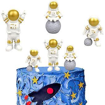 Astronauten Figur Tortendeko Spaceman Kuchen Topper Astronauten Statuen Modell Spaceman
