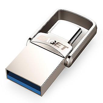 USB-Flash-Laufwerk 32GB OTG Metall USB Pen Drive Key Typ C High Speed Pendrive Mini Flash Drive Speicher