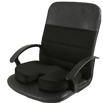 Memory Foam Seat Cushion For Car Seats,Home Office & Travel Cushion(Black)