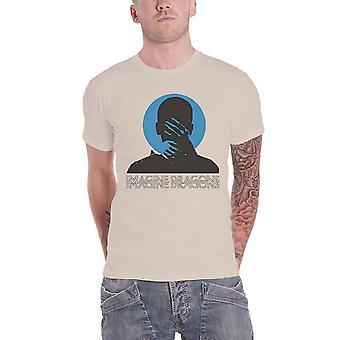 Imagine Dragons T Shirt Follow You Band Logo new Official Mens Natural