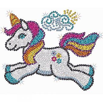 Sequin Art Sequin Astra The Unicorn Junior