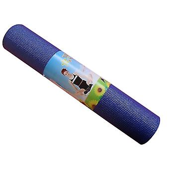 Pvc Фитнес Нескользящий Профессиональный коврик для йоги, Многофункциональный мат Для йоги Танцевальный коврик Для пилатеса и пол