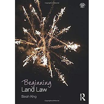 Beginning Land Law (Beginning the Law)