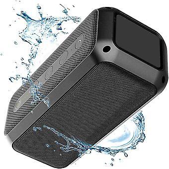 Altoparlante bluetooth portatile da 30 W, altoparlante impermeabile, stereo, bassi avanzati, due (= 60 W) all'aperto