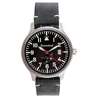 Aristo Herren Messerschmitt Klocka Pilot's Watch - Komet 80 år - ME163-80-2 Läder