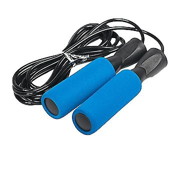 Jump ropes homemiyn sports skipping rope slimming fat burning lengthened skipping rope 275cm blue