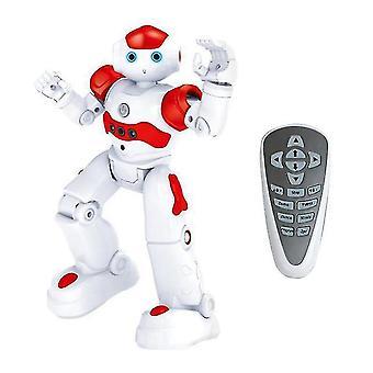 Velikost 26cm rc dálkové ovládání robot inteligentní akční chůze zpívat taneční akční figurka gesto senzor hračky