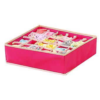 4 In 1 Foldable Underwear Organizer Storage Box Ties Boxes For Scarfs Socks