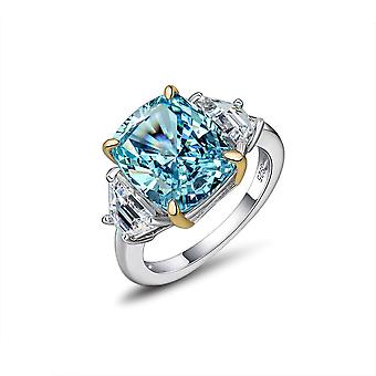 Sapphire Silver Ring For Women