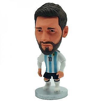 """Qian 2.55"""" Výška futbalová bábika Ar # L. Messi figúrky čierne vlasy"""