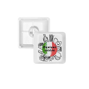 Meksikolainen Sketch Keycap -näppäimistö
