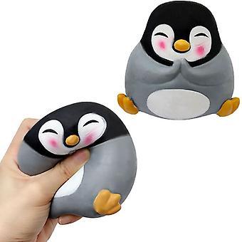 Cartoon Katze Pinguin Kawaii Lustiges Tier Fidget Spielzeug Sensorischer Autismus Squeeze Stress Reliever Anti Stress Spiel Hand Relax Spielzeug