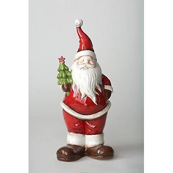 Permanent de Santa décoratifs Noël ornement Figurine idée cadeau