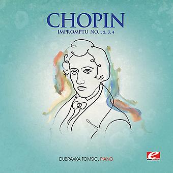 F. Chopin - Impromptu 1-4 [CD] USA import