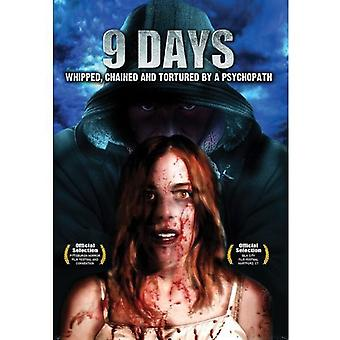 9 Days: Whipped Chained & Tortured by a Psychopath [DVD] USA import