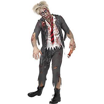 Zombie Schuljunge Schoolboy Kostüm Halloween