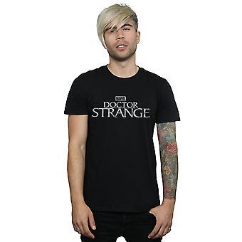 मार्वल मेन एंड एपोस; एस डॉक्टर अजीब लोगो टी शर्ट