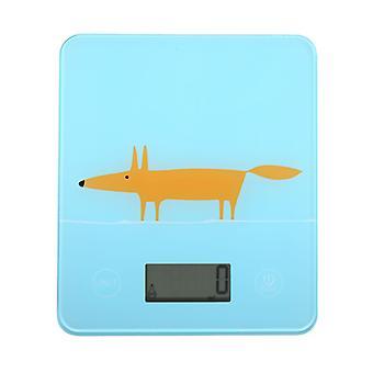 Scion Mr Fox Blue Electronic Scales