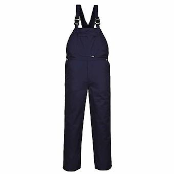 Portwest - Burnley Workwear Bib and Brace Dungarees Overall Coverall