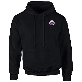 Exército dos Estados Unidos retirou-se logotipo bordado - Hoodie
