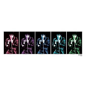 Elvis Presley - 68 Comeback Special Pop-Plakat Poster drucken