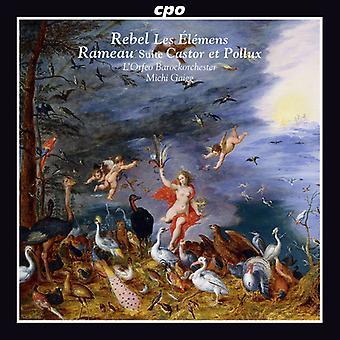 Rebel / Rameau - Les Elemens-Castor Et Pollux Suite [CD] USA import