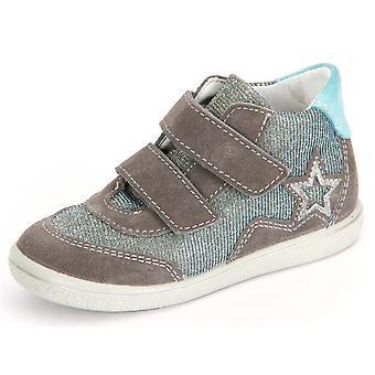Ricosta Cleo Graphit Himmel Velour Wonderful 2524200452 universal todos os anos sapatos infantis
