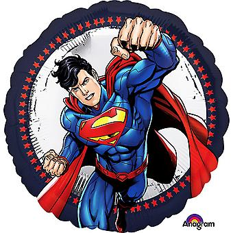 Anagram 18 Inch Superman Circle Foil Balloon