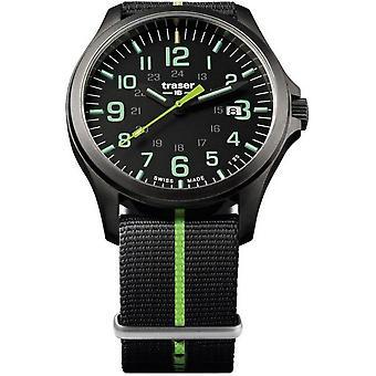 Traser H3 watch P67 officer pro GunMetal 107426
