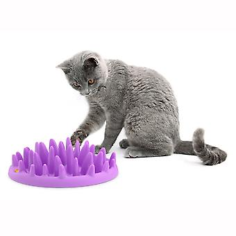 Compagnie des animaux Catch Interactive Cat Feeder violet