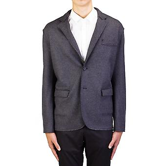 Lanvin menns ull to knapper Sportscoat jakke grå