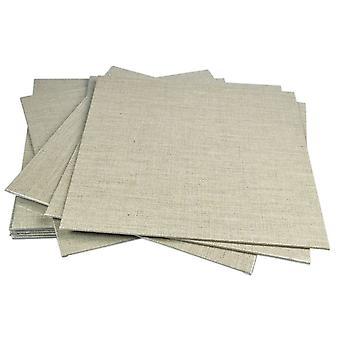 Pebeo Linen Canvas Board 30 x 30cm