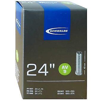 SCHWALBE AV 9 cykel tube 24″