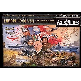 Akse og allierte Europa 1940 2nd Edition