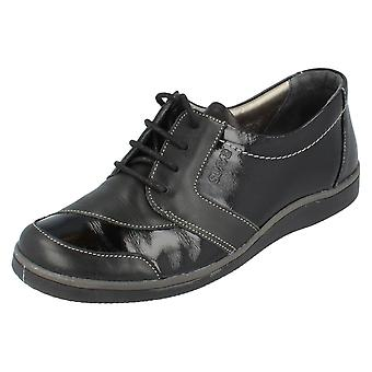 Ladies Suave Lulu Casual Lace Up Shoes