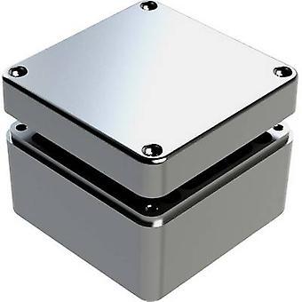 Deltron kotelot 486-121209 Universal kotelo 125 x 125 x 90 alumiini Ecru 1 PCs()