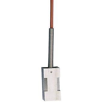 Jumo Temperature sensor Silicone Sensor type Pt100 Temperature reading range-50 up to 180 °C Cable length 2.5 m Sensor diameter 25 mm