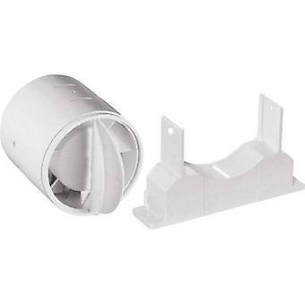 Wallair N40819 Backflow klep geschikt voor buisdiameter: 10 cm Wit