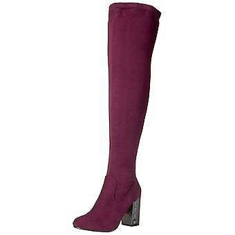 Carlos by Carlos Santana Womens Quantum Fabric Closed Toe Over Knee Fashion Boots