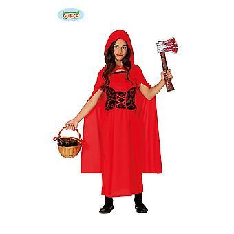 Guirca Böses Horror RotkäppchenHalloween Kostüm für Mädchen