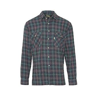 Champion Herren Country Killbeggan Casual Langarm Shirt M Olive
