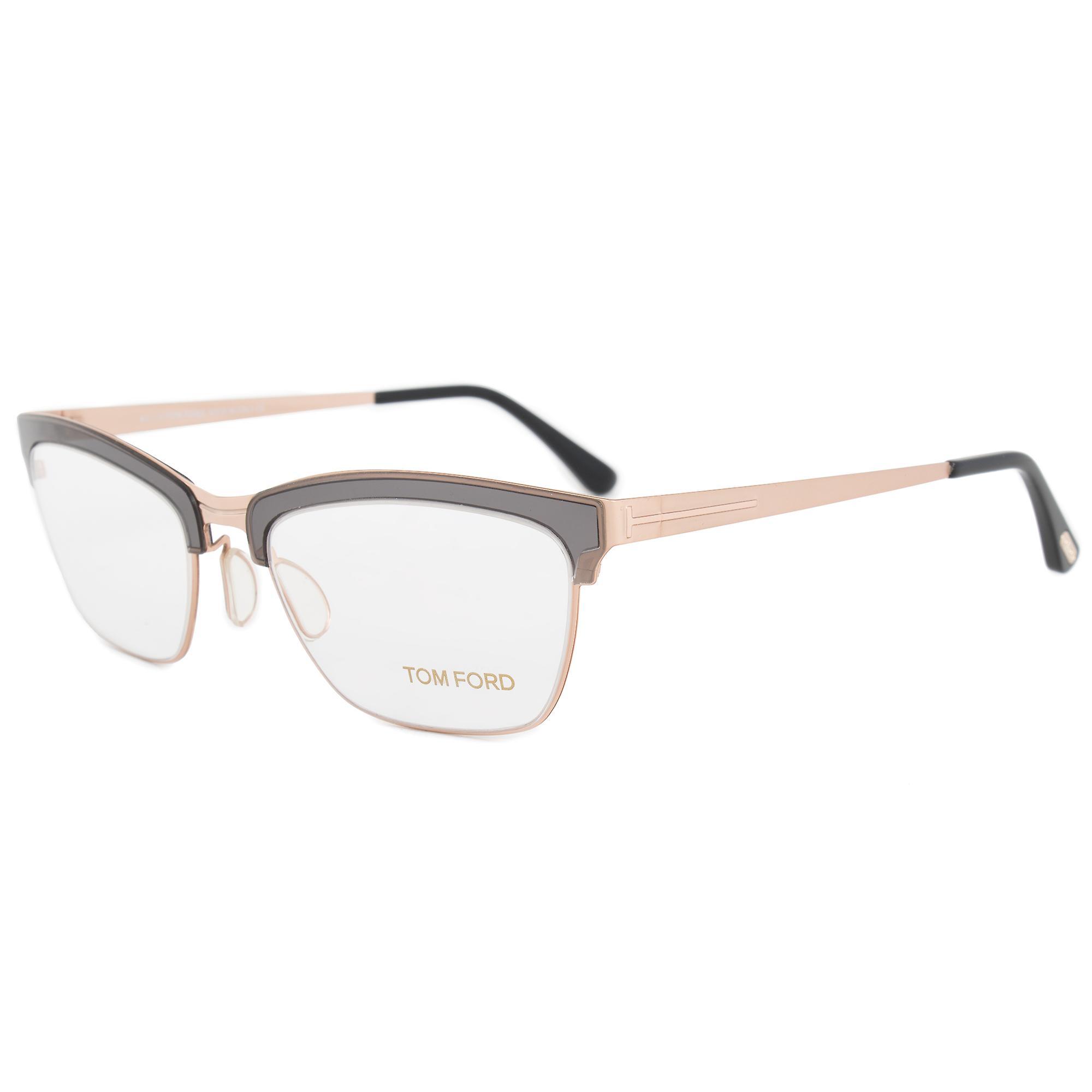 Tom Ford FT5392 020 54 Cat Eye | Gray | Eyeglass Frames
