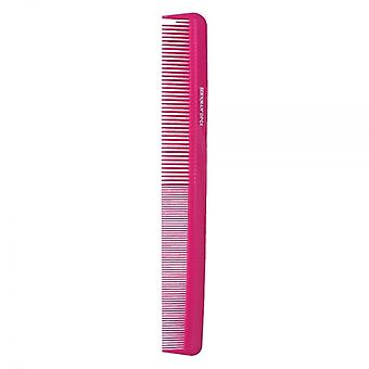 Denman Precision Cutting Comb - Pink
