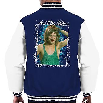 TV Times Rod Stewart Russell Harty Plus Men's Varsity Jacket