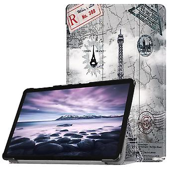 Couverture Slim Fit pour Samsung Galaxy Tab A 10.5 (2018)-Eiffel Tower