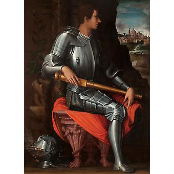 Portræt af Alessandro de ' Medici, Giorgio Vasari, 60x40cm