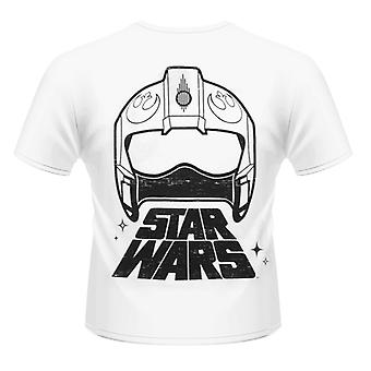 Star Wars - X-Wing Fighter bak t-skjorte